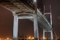 Yokohama Bay Bridge (3) (n0r1z0) Tags: japan yokohama hdr canoneos7d