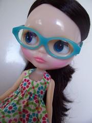 Serenity in her specs!
