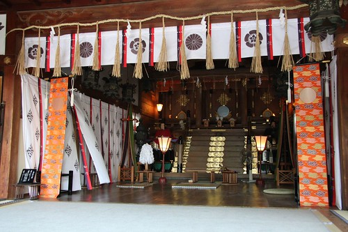 Haiden,茨木神社