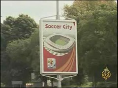 My Interview in South Africa by aljazeera - FIFA World Cup 2010 (Bahaadeen Al Qazwini) Tags: world cup southafrica airport o fifa r kuwait johannesburg 2010 tambo