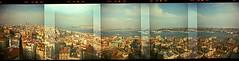 istanbul (thomasw.) Tags: travel panorama analog holga europa europe cross istanbul crossed holgarama