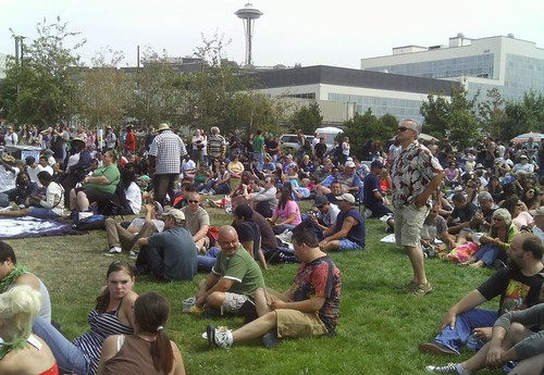 Crowd Shot - Hempfest 2010