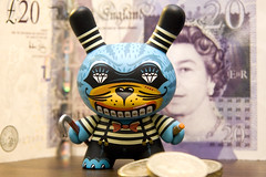 Kronk (The Quiff Is Dead) Tags: urban money toy toys coins designer vinyl kidrobot note series british sterling otaku 2009 pound dunny kronk gbp
