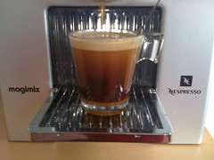 Café de machine nespresso