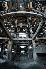 All Hail The New Flesh (Midnight - digital) Tags: abandoned stone architecture concrete industrial factory chaos cathedral god decay steel perspective machine heavymetal urbanexploration derelict indus grotesque monstrous ciment ue thebeautyindecay