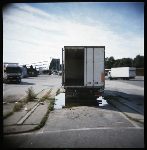 Fleischerhaken-Lastkraftwagen
