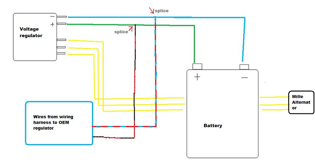 4 Wire Regulator Wiring Diagram - Wiring images  Wire Voltage Regulator Diagram on