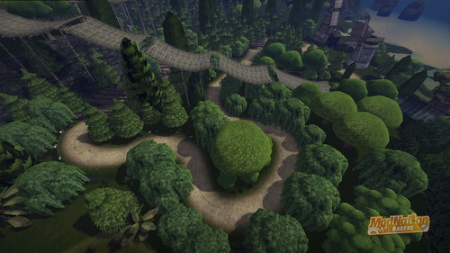 "ModNation Racers for PS3: ""Armagna's Forest"""