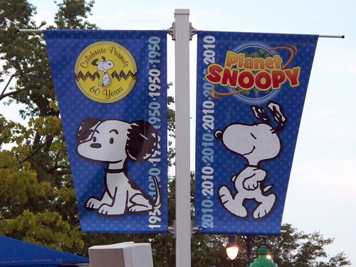 Cedar Point - Planet Snoopy Banner