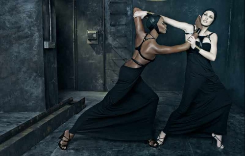 Naomi & Linda for DSquared by Stephen Meisel