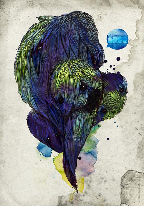 Monstres © Emilie Vasset