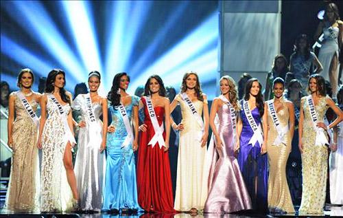 Miss Universo 2010 10 Semifinalistas
