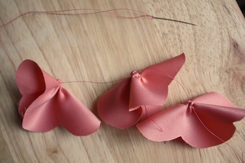 Step 8: Thread Petals Onto String
