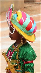 (trippingonlife) Tags: india children kid child contest independenceday fancydress tippusultan
