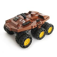 Kong T75 (Fredoichi) Tags: tank lego space military micro roller vehicle microscale fredoichi
