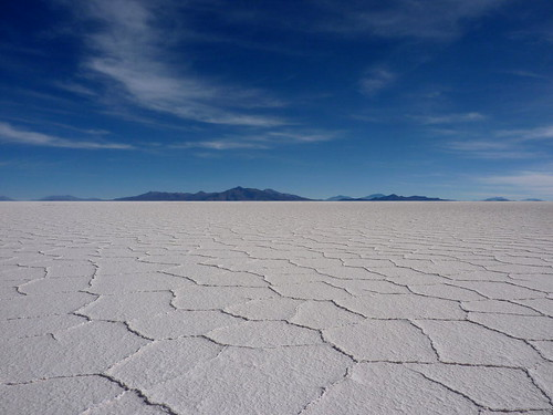 World's Largest Salt Flat in Bolivia por United Nations Photo, en Flickr