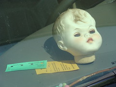 apotropaic baby head