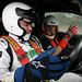 Byron Young with Silverstone driving instructor Jason Sharpe
