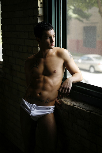 cute man underwear sexy hot young shirtless model