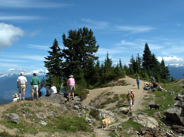 On Top of Sauk Mountain