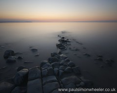 Kilve III, Somerset (Weeman76) Tags: longexposure sunset seascape rocks sigma wideangle somerset limestonepavement sigma1020mm d90 kilve nd110
