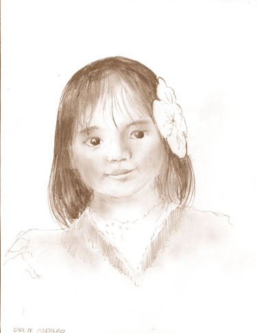 Girl from Mindanao