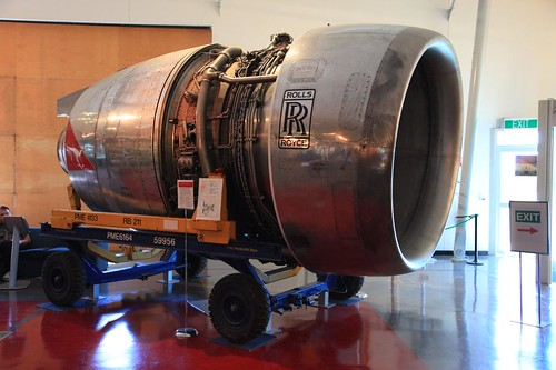 2010-05-06_1221-15a Rolls Royce RB211-524D4-19-15 engine at QANTAS ...
