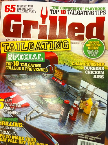 Check out the latest issue of #Grilled, out today. I'm thrilled to have an article with several recipes & a bunch of pictures!
