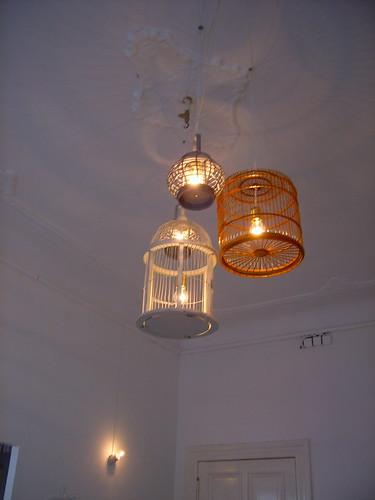 vogelkäfig lampe