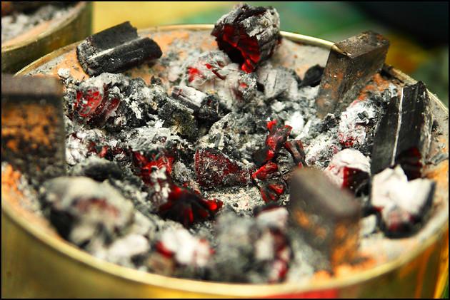 charcoal-stove