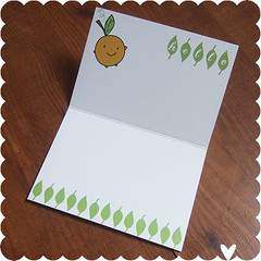 Happy Orange Card