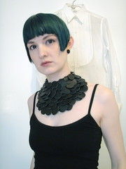 scaley necklace2 (Camilla Taylor) Tags: jewelry scaley statementnecklace weirdjewelry