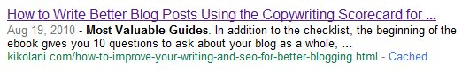 Meta Description After Header Tag