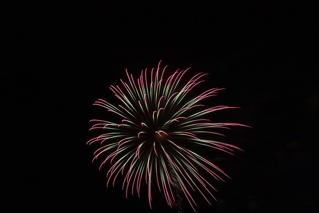Oak Bluffs Fireworks