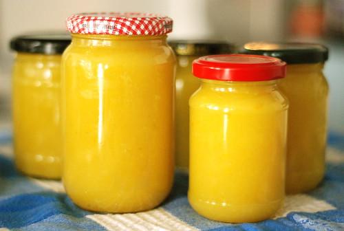 sidrunine suvikõrvitsamoos/zucchini jam with lemon