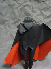Dracula (2) (the real juston) Tags: halloween paper frank origami vampire nosferatu graf bat christopher dracula edward lee bela papiroflexia challenge monthly folding gorey vampyre count lugosi vampir castlevania juston  langella orlok
