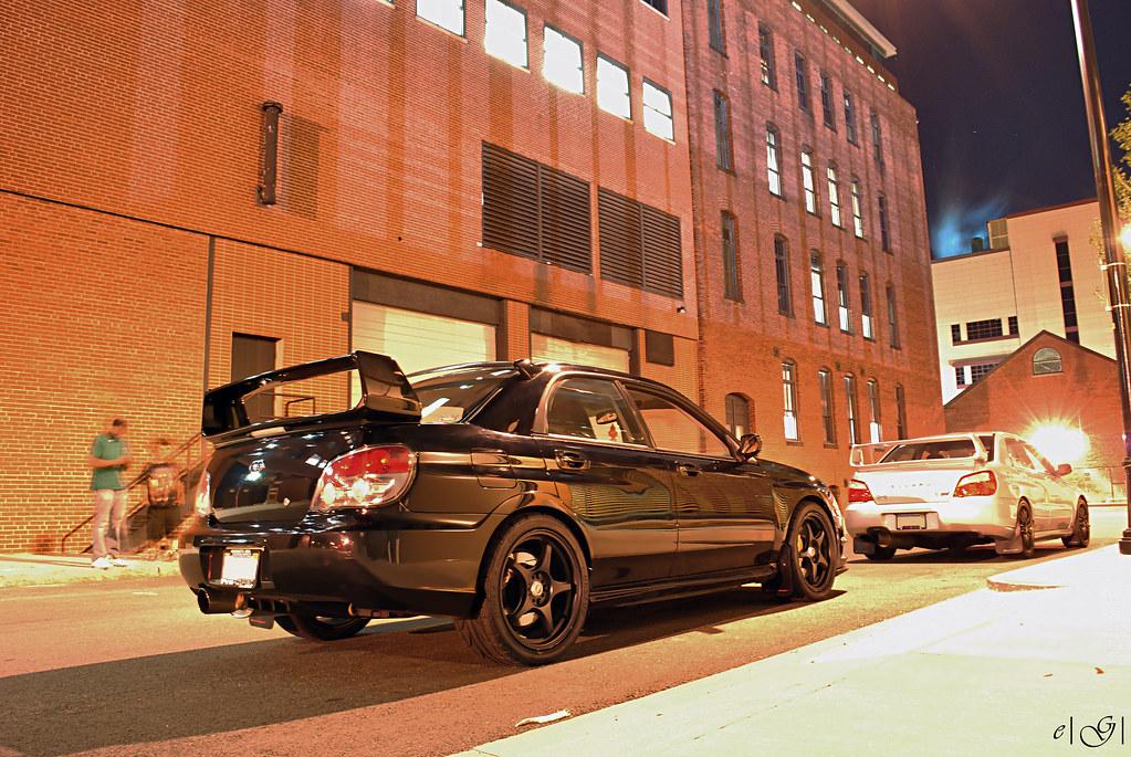 Sensyon S Soon To Be Blacked Out 2006 Sti Subaru Impreza