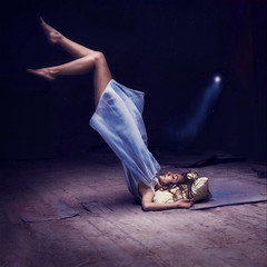 pixie dust (brookeshaden) Tags: levitation peterpan pixie explore nighttime trick gown dust wendy frontpage oneofmyfavoritemovies brookesha