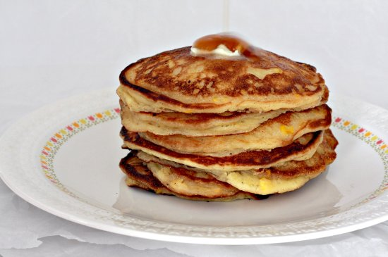 Sour Cream Corn Pancakes