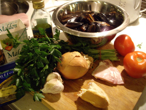 Ingredients o' the sea!
