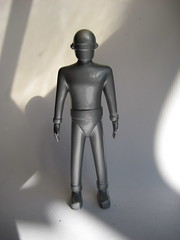 Gort Robot 3336 (Brechtbug) Tags: from men eye film monster metal giant toy toys death for robot still day ray action body earth space guard police galaxy 1950s figure laser law outer universe creature threat visor solid gort barada stood nikto the klaatu