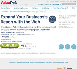 Value Web Hosting Review