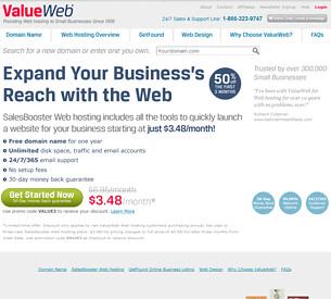 Value Web Hosting Review