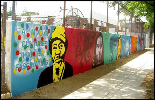 Tubman Elementary Mural