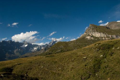 2. Becca d'Aran e Monte Cervino