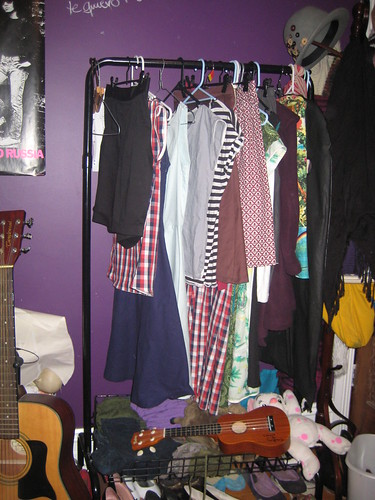my self stitched wardrobe (almost)