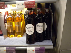 Quevedo Rose Port in the Summer launching section in Systembolaget shop in Sweden