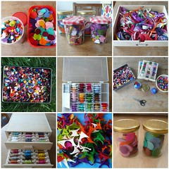 Craft supplies (Het Bovenhuis) Tags: work craft toolkit at