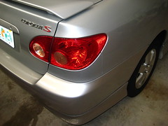 2003-2008 Toyota Corolla Tail Light Assembly (PaulMB79UF) Tags: 2005 2003 light 2004 up turn back parking tail rear steps replacement 2006 toyota bulbs instructions brake how guide reverse 2008 signal corolla 2007