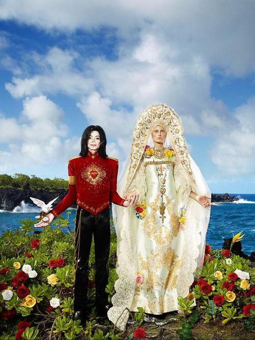 David LaChapelle, American Jesus, The Beatification I'll never let you part for you're always in my heart